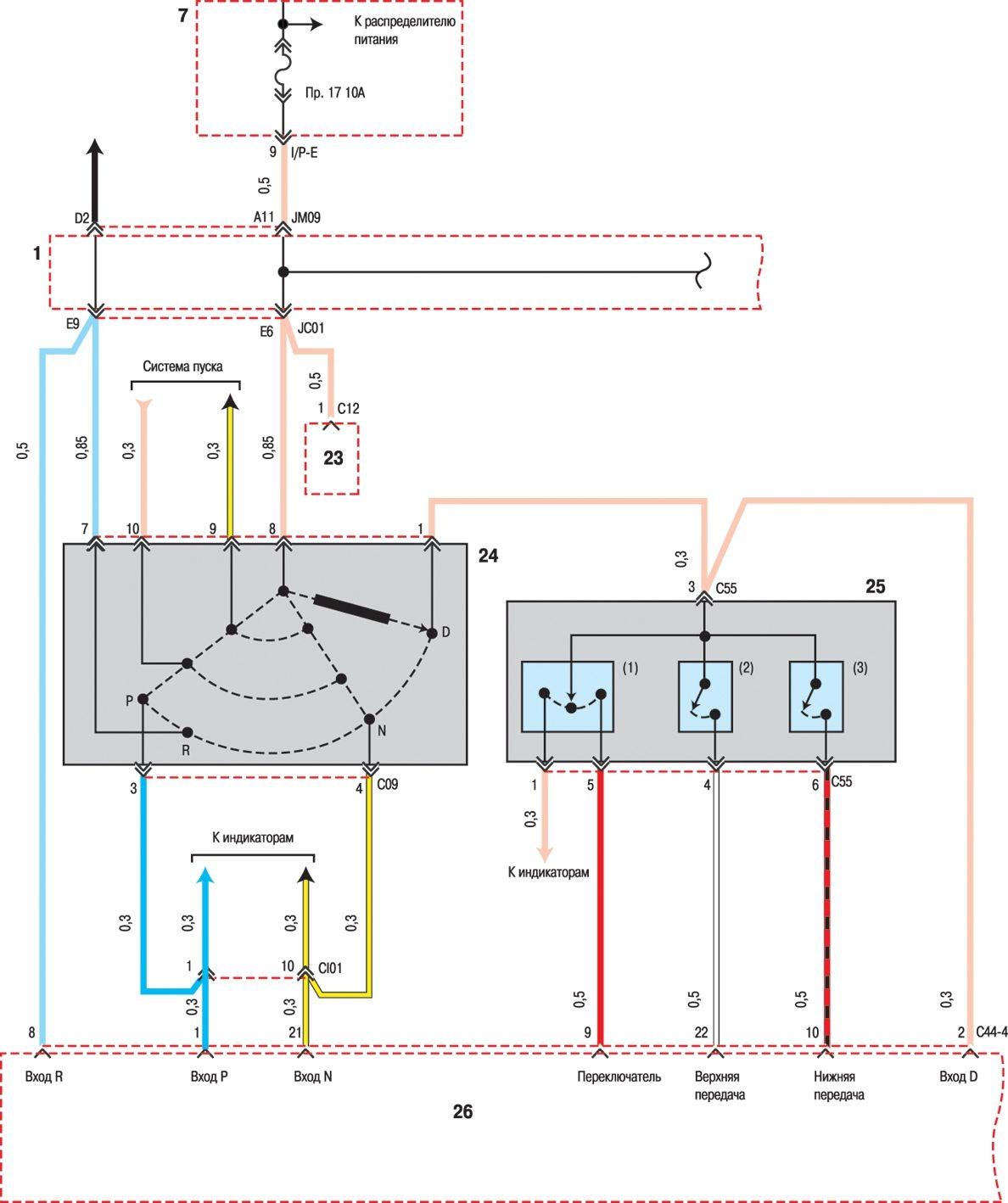 Hyundai схема блока управления фото 345