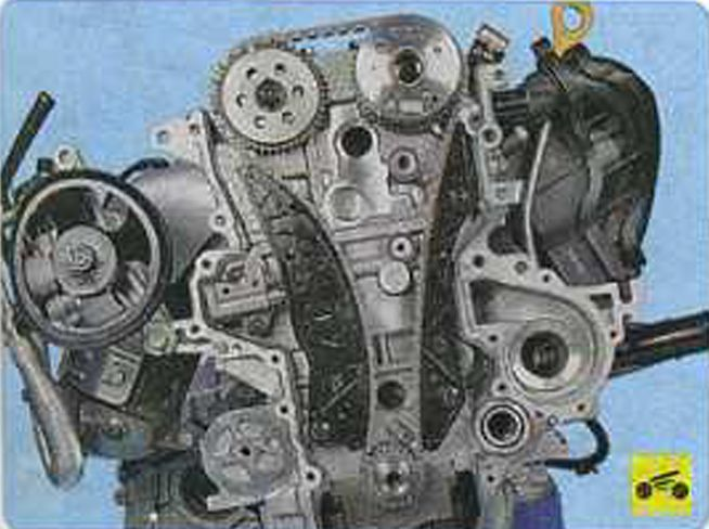 Ремонт двигателя g4kd своими руками 60